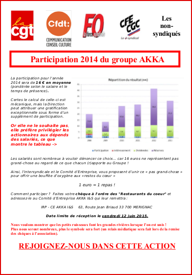 Participation 2014 groupe AKKA